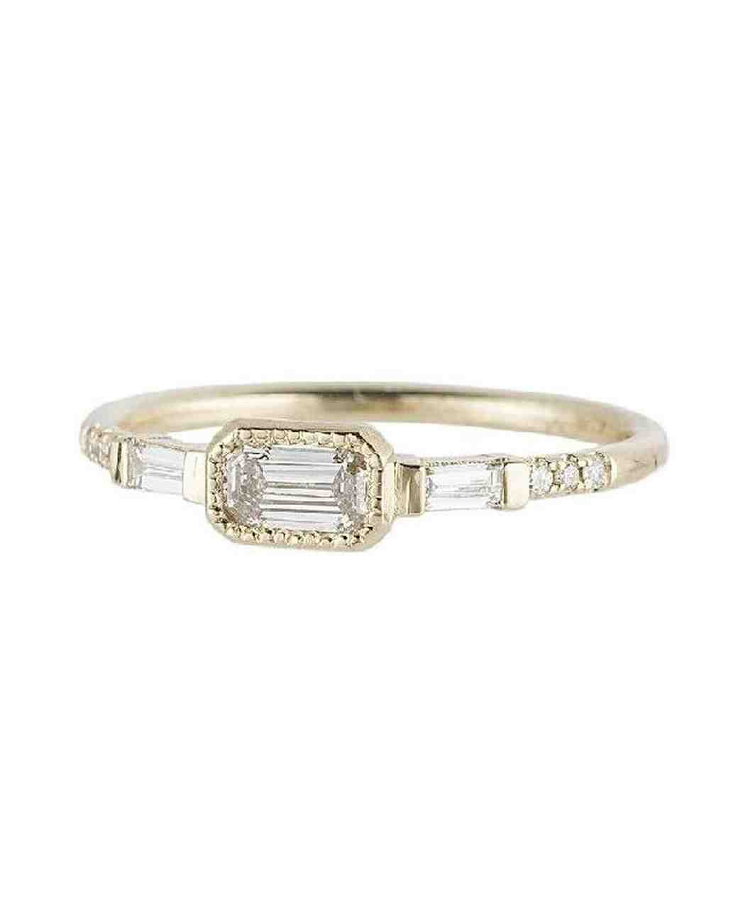 east west engagement rings diamond ys baguette
