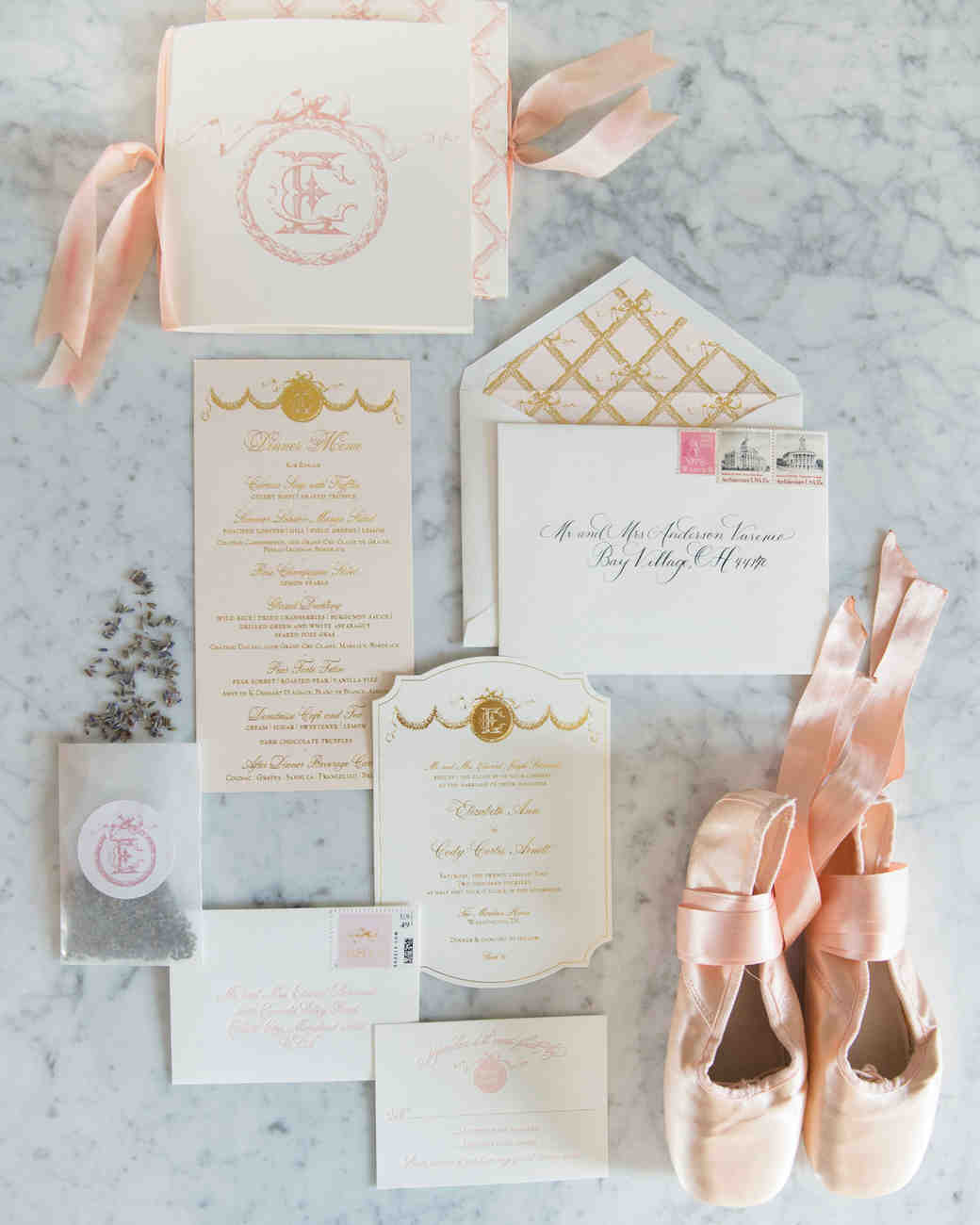 A Parisian, Ballet-Inspired Wedding in D.C. | Martha Stewart Weddings
