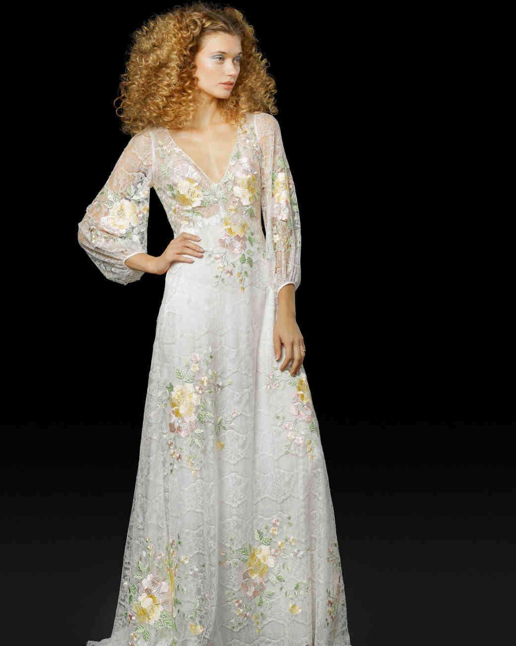 Elizabeth Fillmore Fall 2017 Wedding Dress Collection | Martha ...