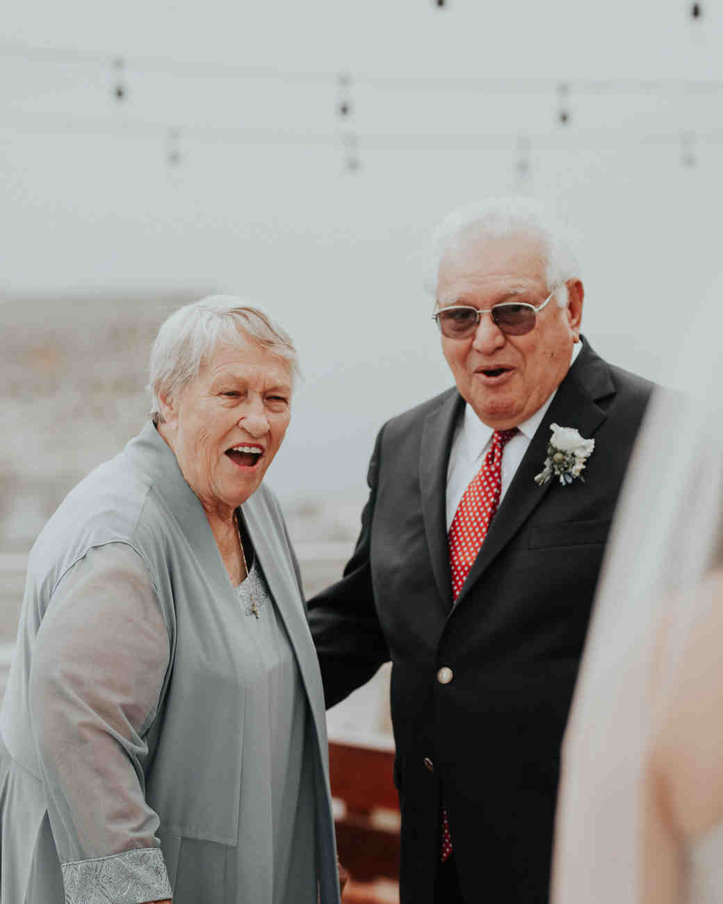 grandparents first look