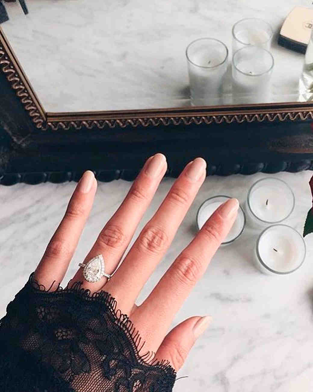 EngagementRing Selfie 101 How to Take the Perfect Photo Martha