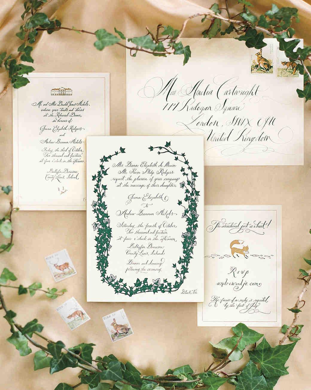 A Wedding Weekend in the Irish Countryside | Martha Stewart Weddings