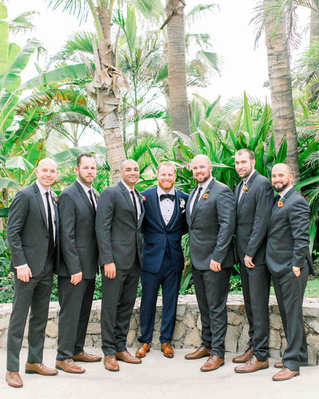 kourtney justin wedding mexico groomsmen