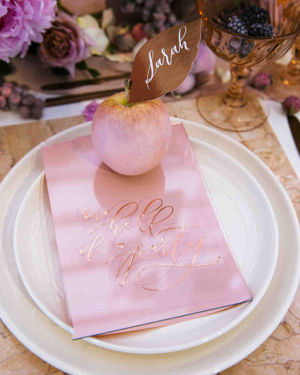 apple place card