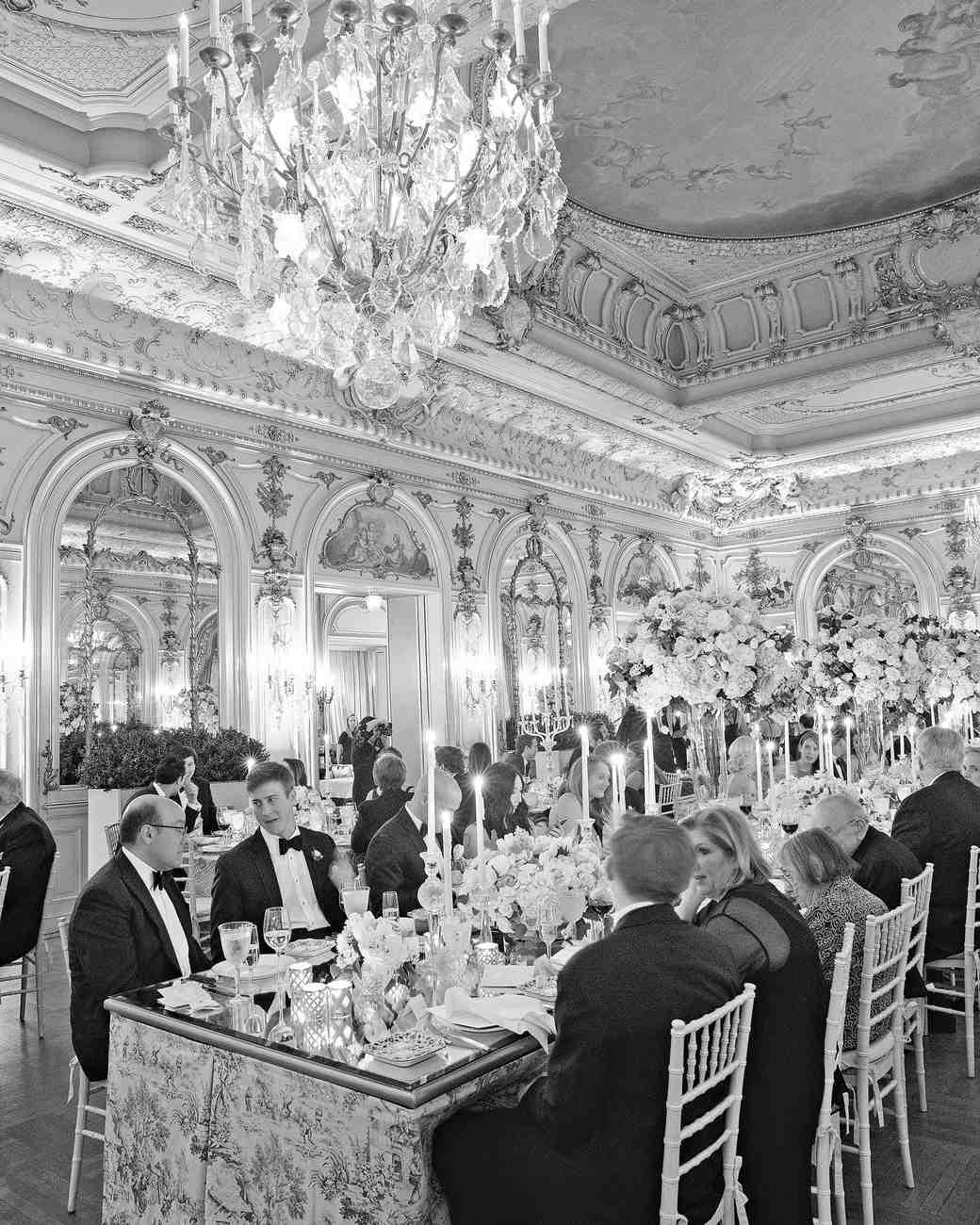washington dc wedding reception dining room ballroom
