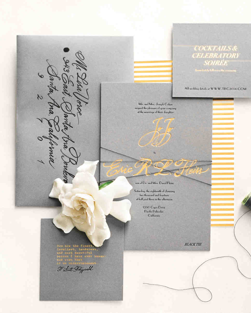 4 Steps for Creating Your Wedding Invitation Stationery Suite ...