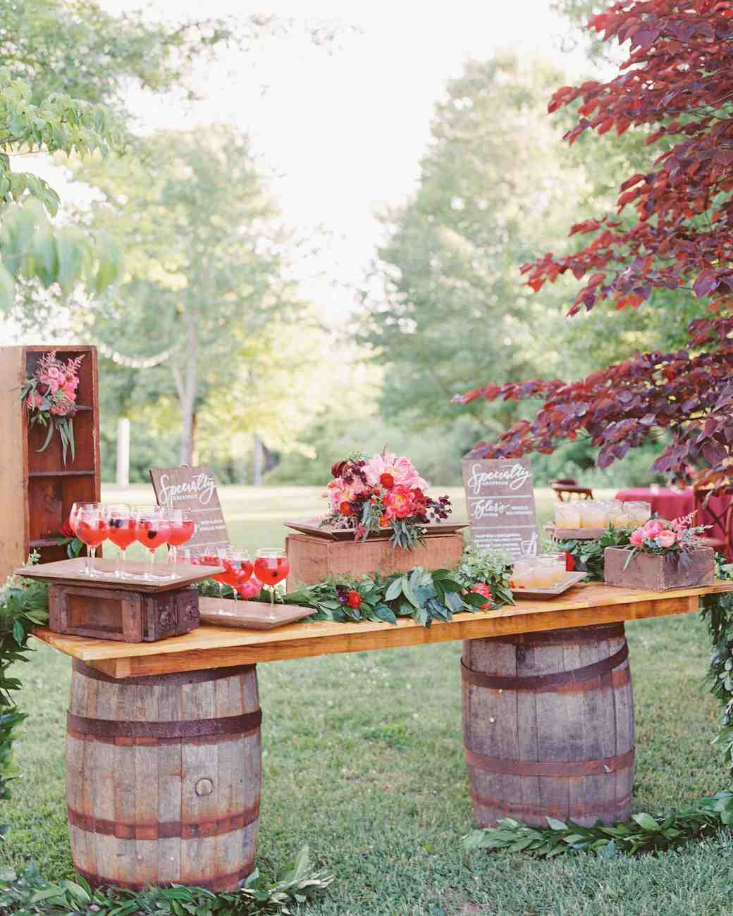trending now drink stations to elevate your reception martha