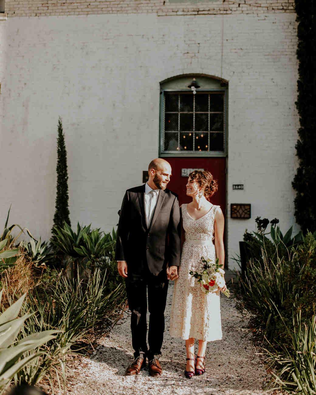 short wedding dress lace vneck