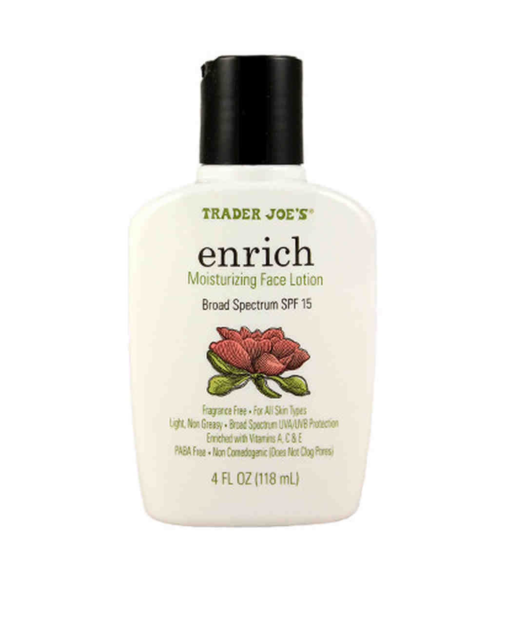 trader joes beauty enrich moisurizing face lotion