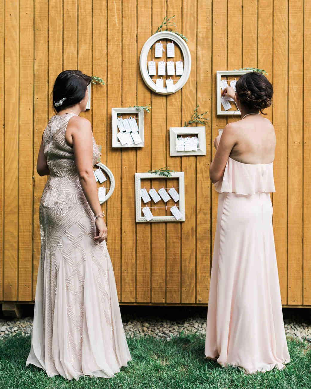 vanessa steven wedding escort cards