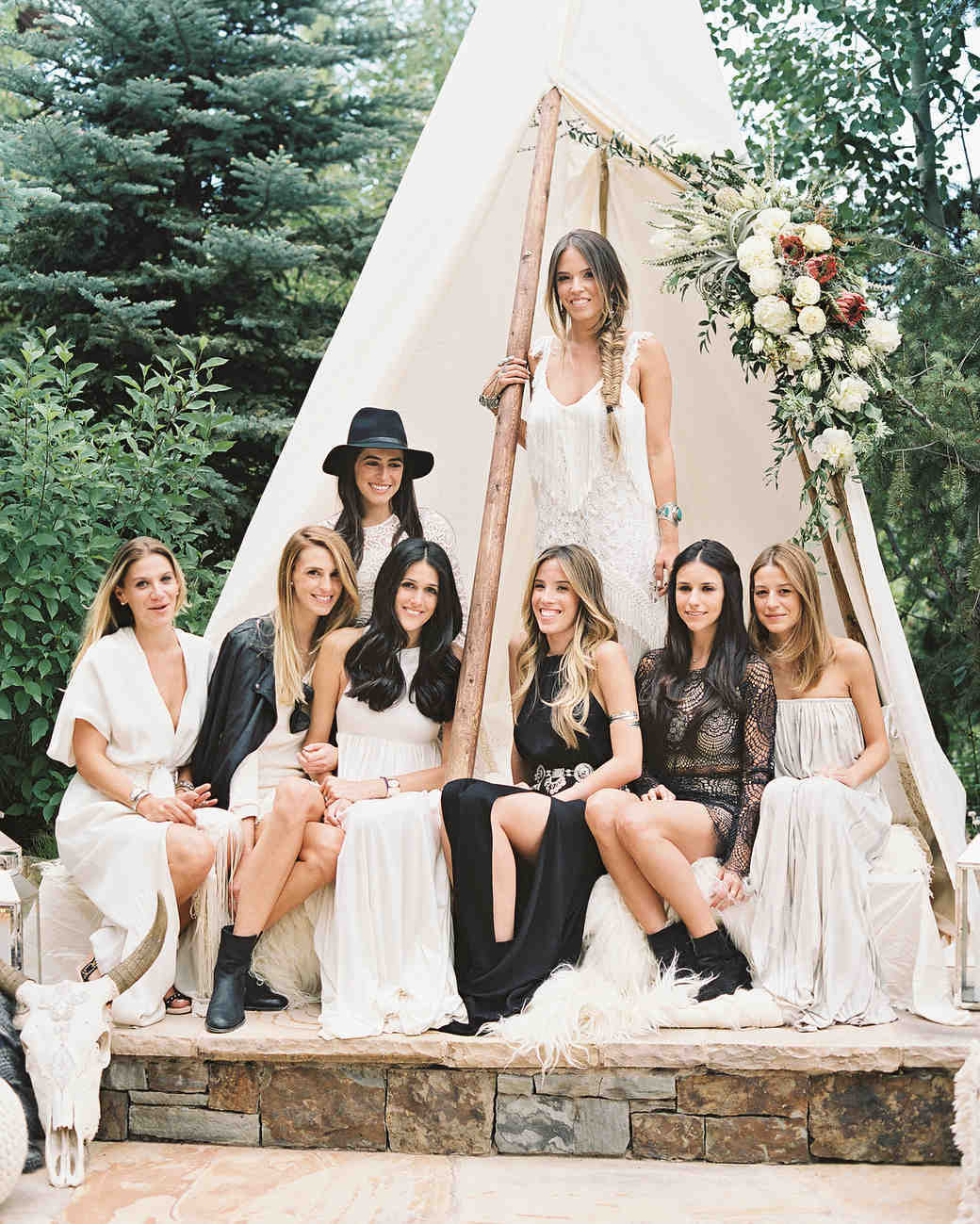 9 nontraditional wedding party ideas martha stewart weddings junglespirit Image collections