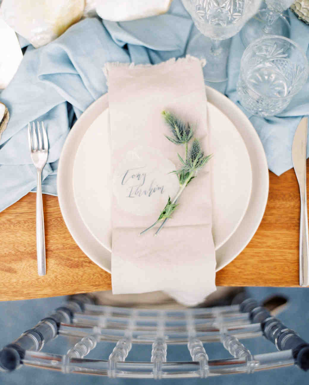 vivi yoga bali wedding ceremony placesetting