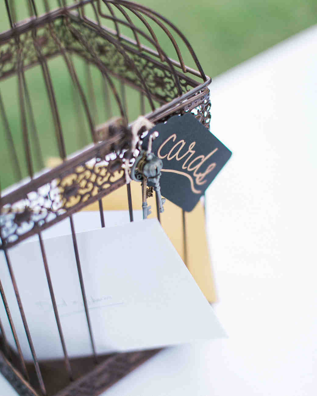 wedding gift tables rachel solomon photography bird cage