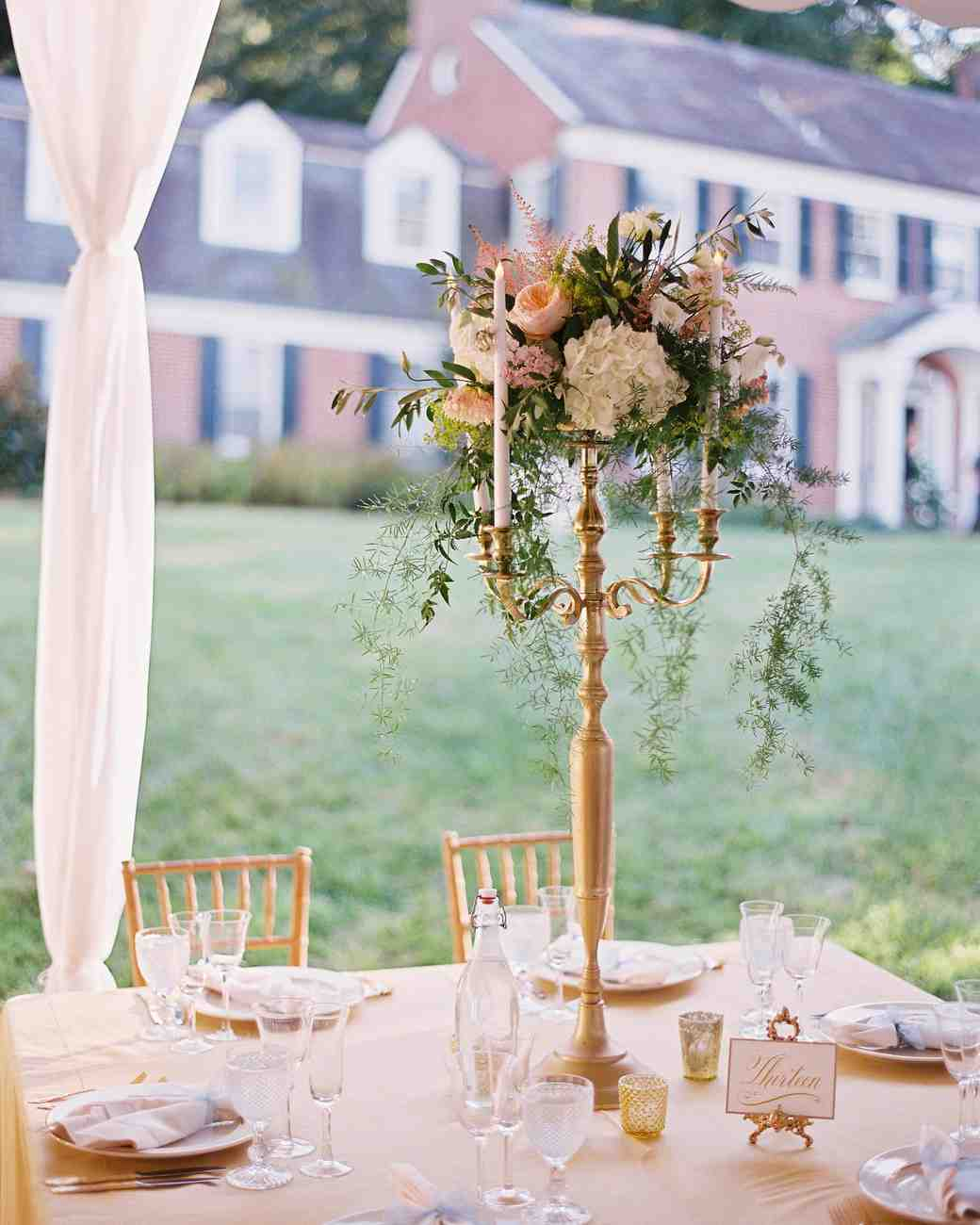 Wedding Flower Arrangements: Tall Centerpieces That Will Take Your Reception Tables To