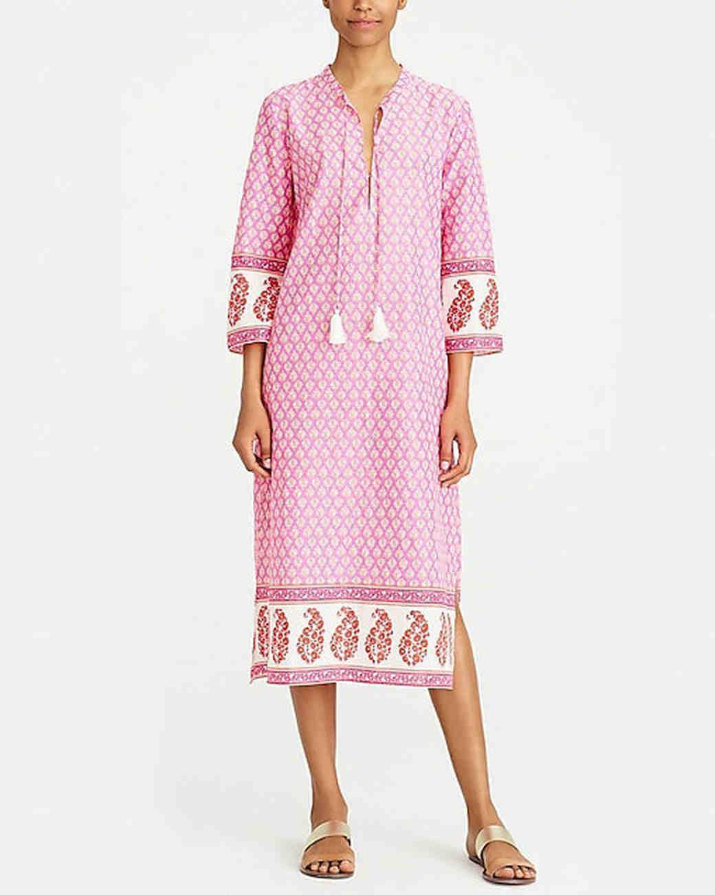 bridesmaid robe alternatives j crew factory caftan