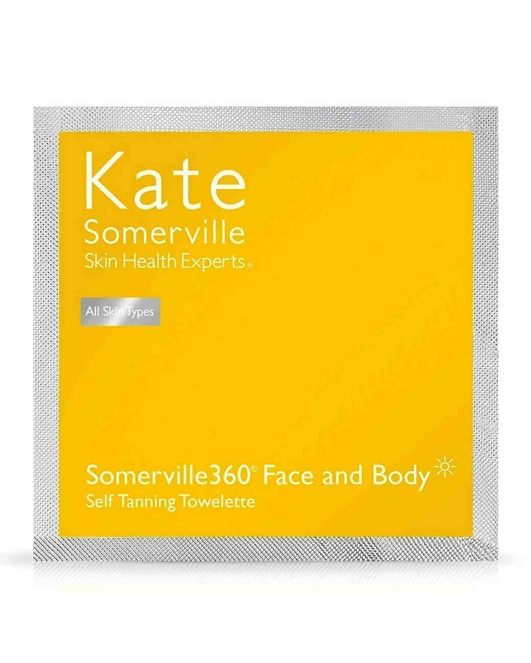 kate somerville face and body self tanning towelettes