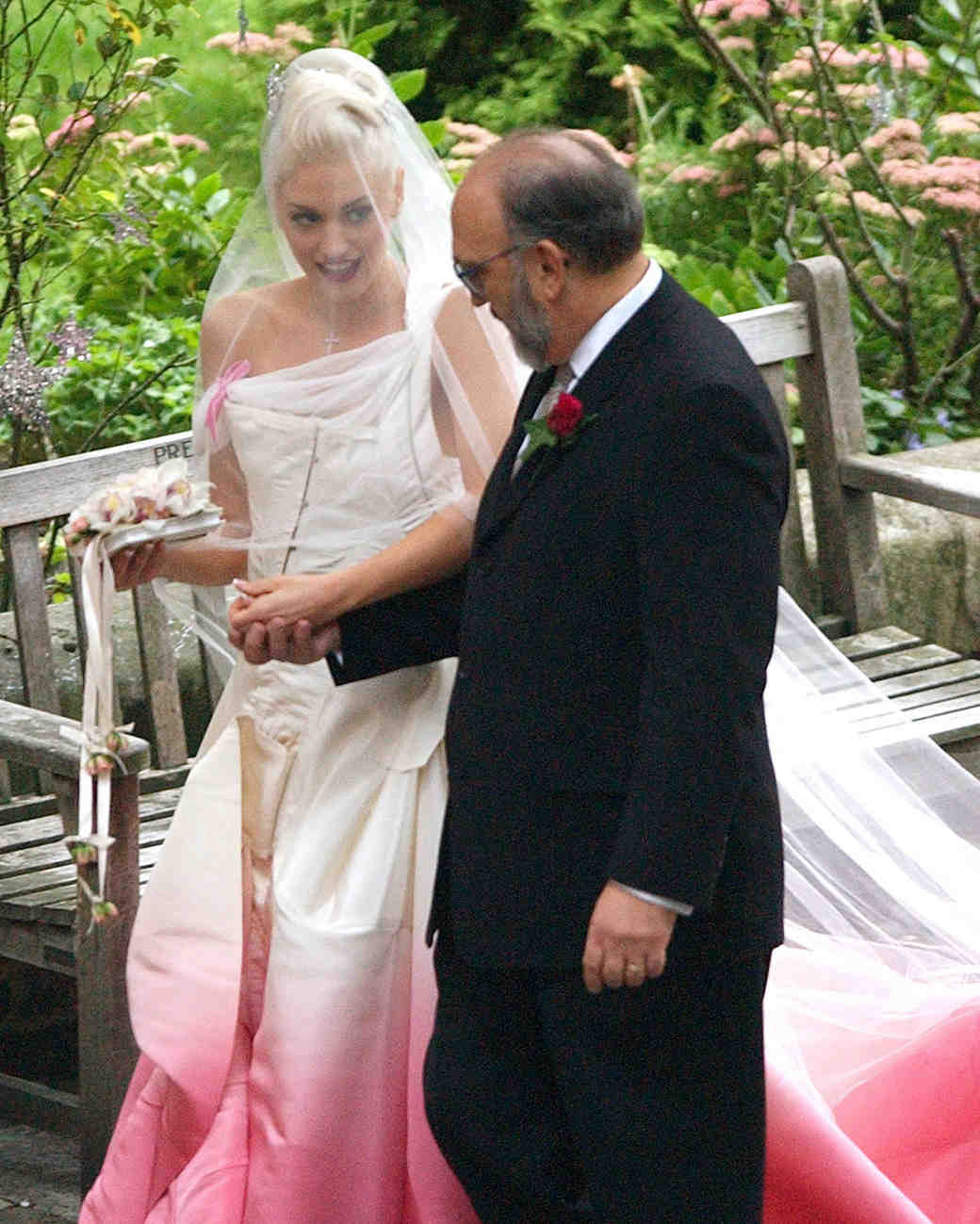 Gwen Stefani and Gavin Rossdale Wedding Photo
