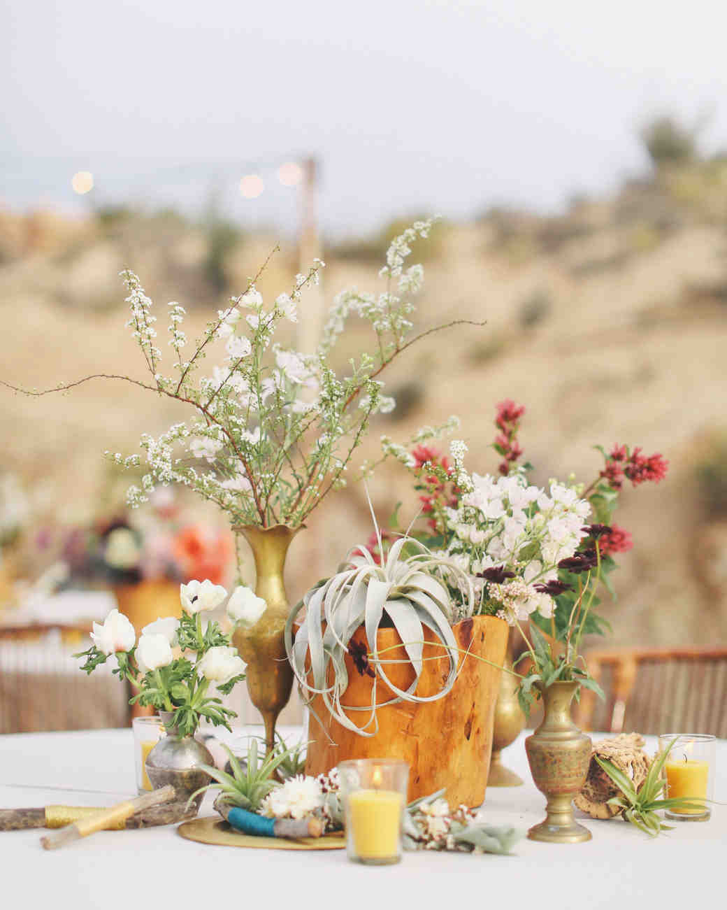 Christen And Billy S California Desert Wedding Martha
