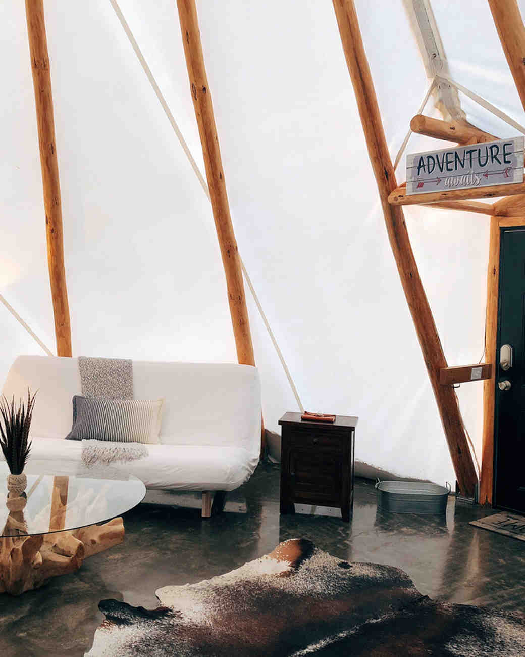 glamping bachelorette retreats sandy river retreat