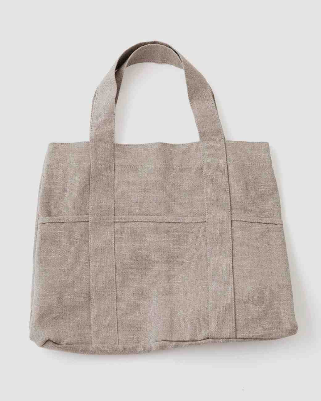 Linen Wedding Anniversary Gifts, Tote
