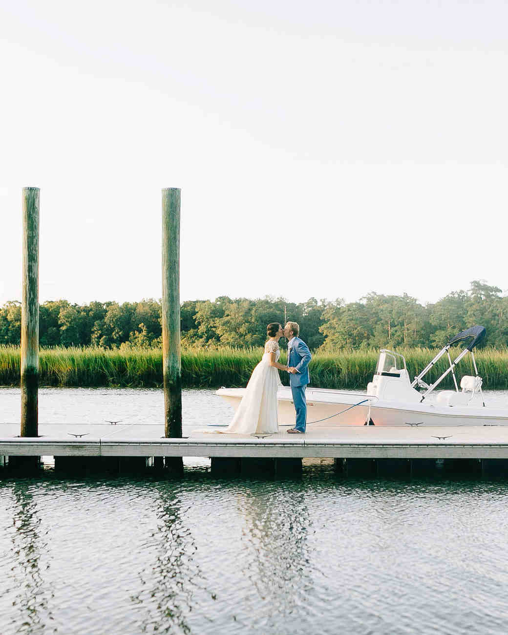 Couple Portrait on Dock