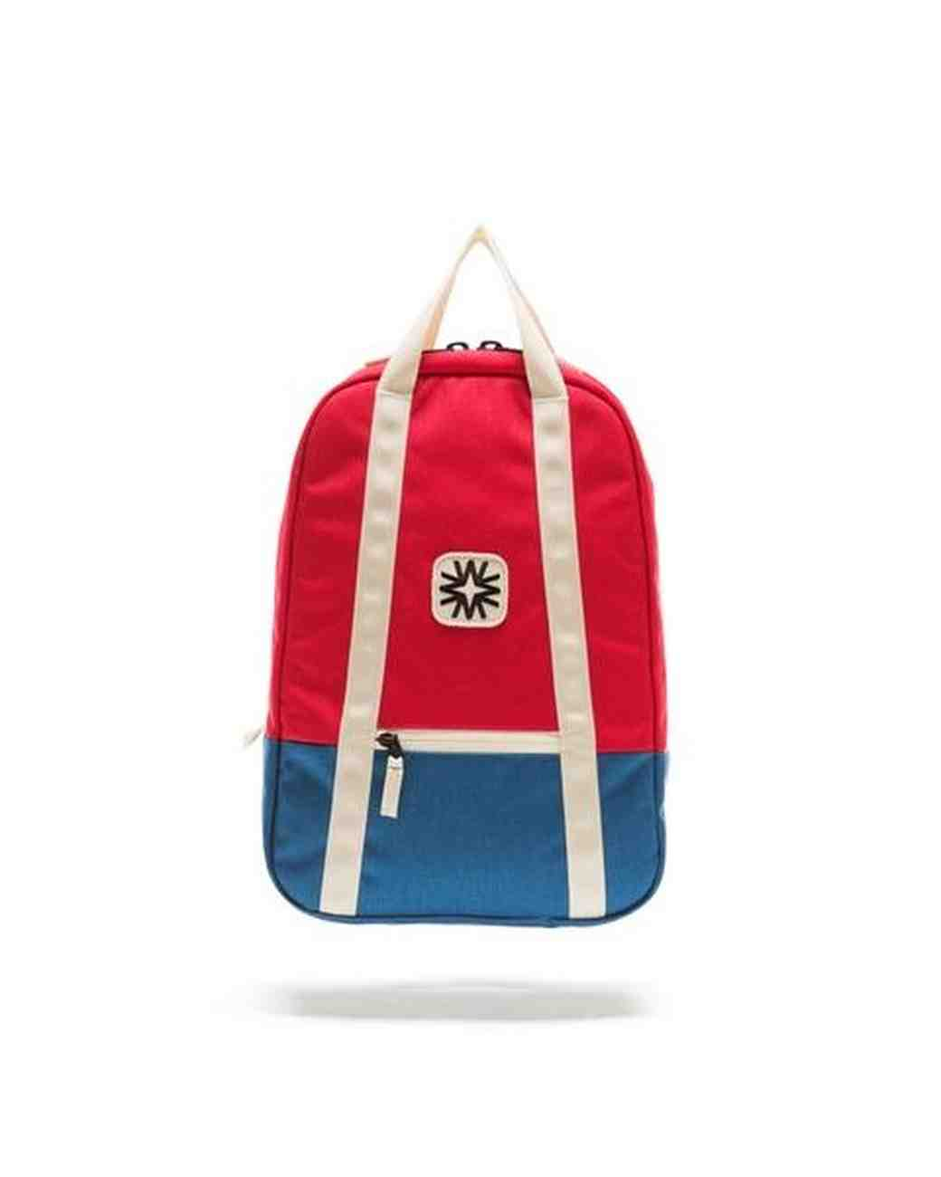 ring bearer gift guide walker goods arrow backpack red and blue