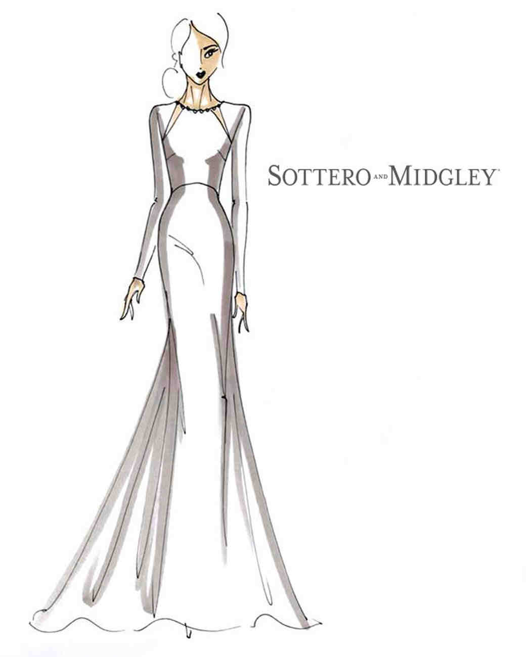 Spring 2018 BFW Sketches Sottero and Midgley