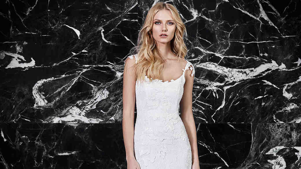 victoria kyriakides floral wedding dress spring 2018