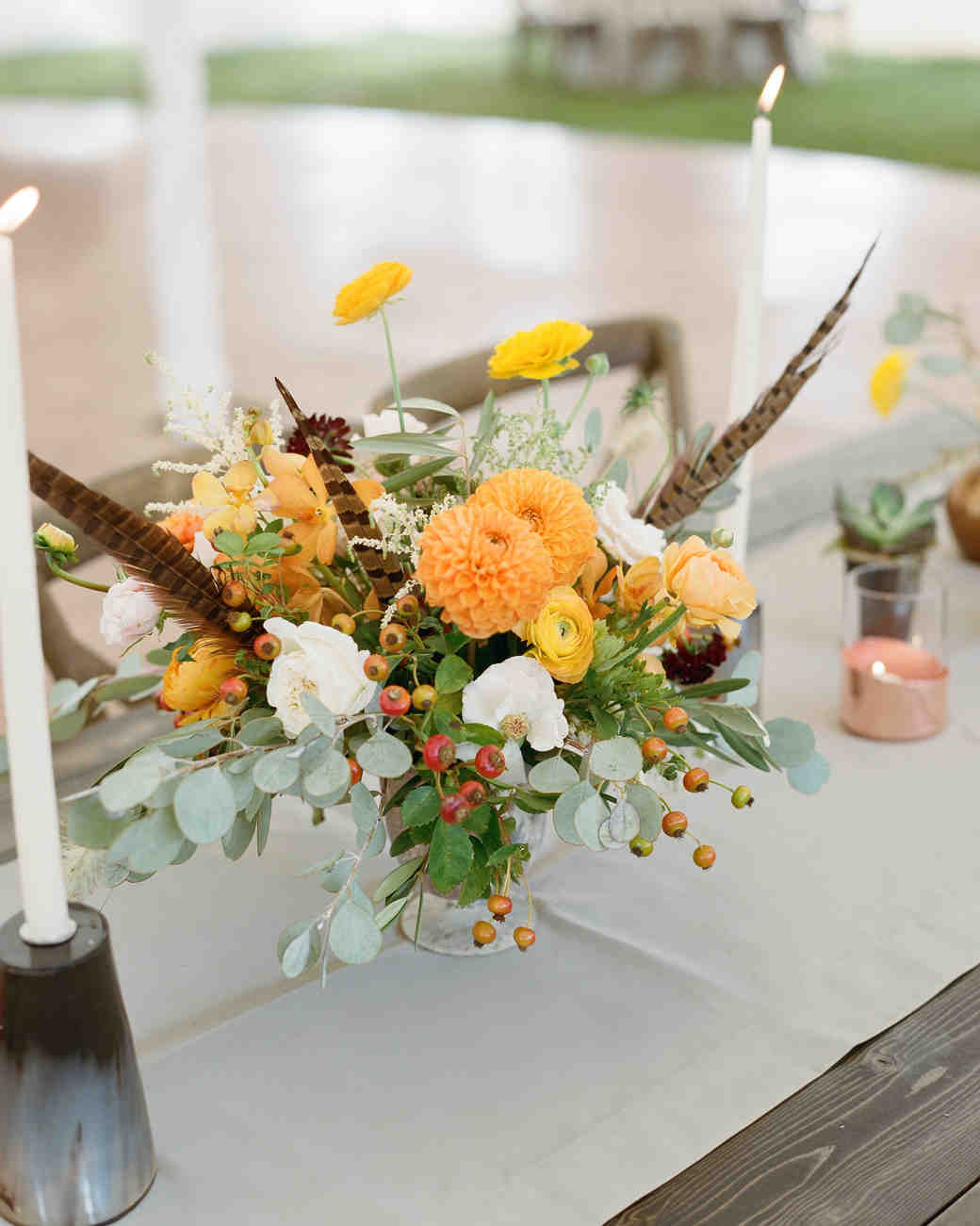 Wedding centerpiece