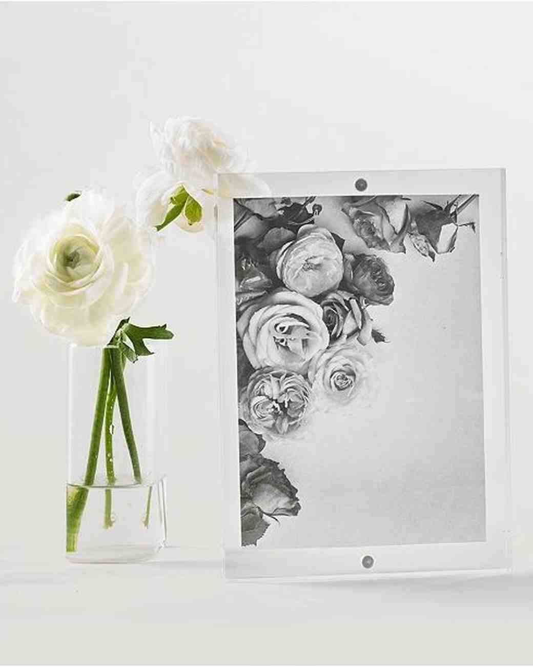 martha stewart acrylic frame