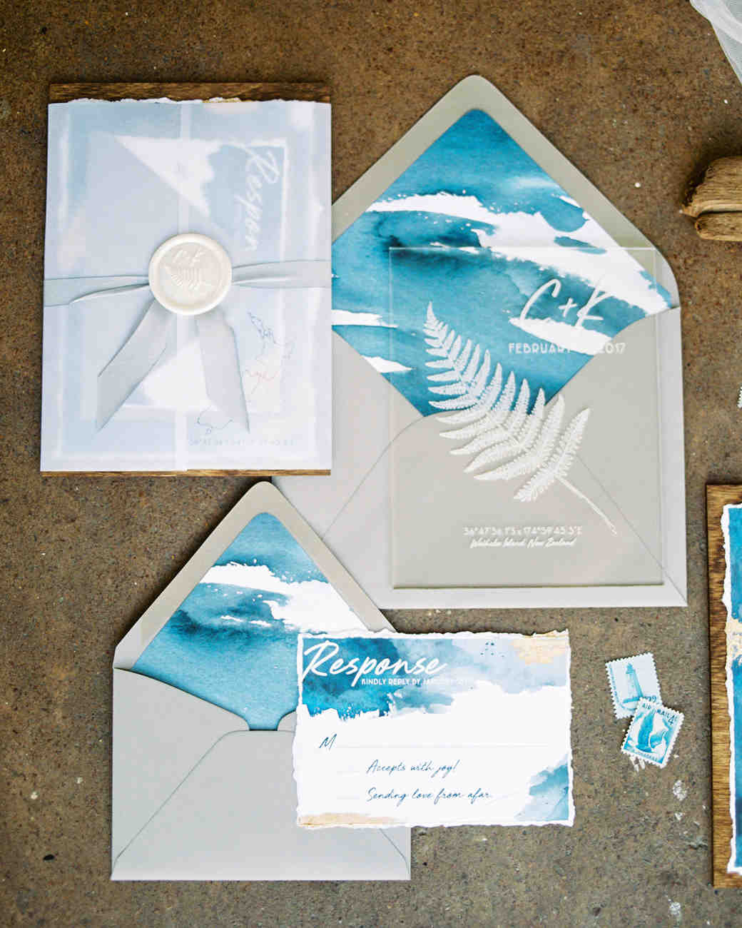 weddings stationery