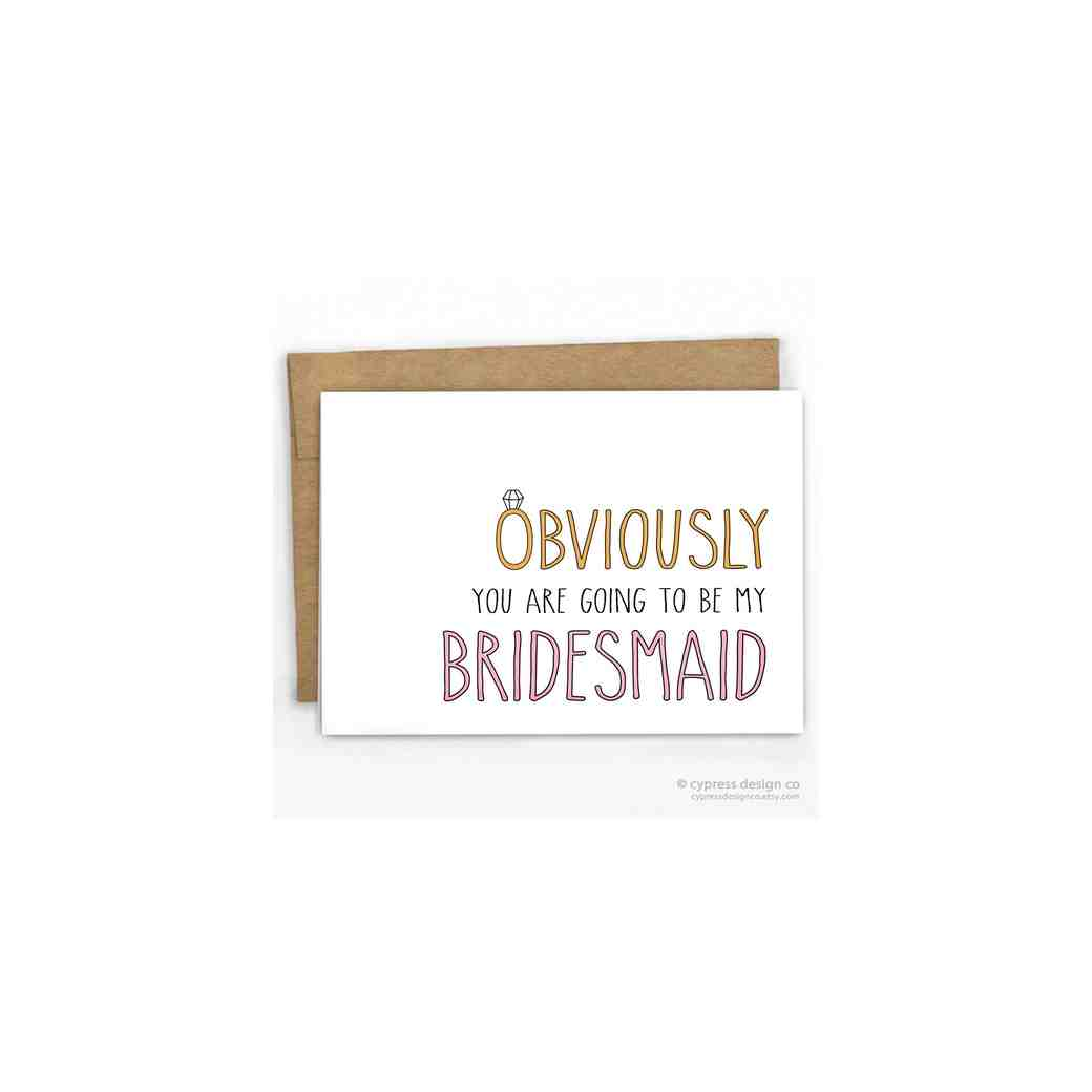 12 Will You Be My Bridesmaid Cards We Love Martha Stewart