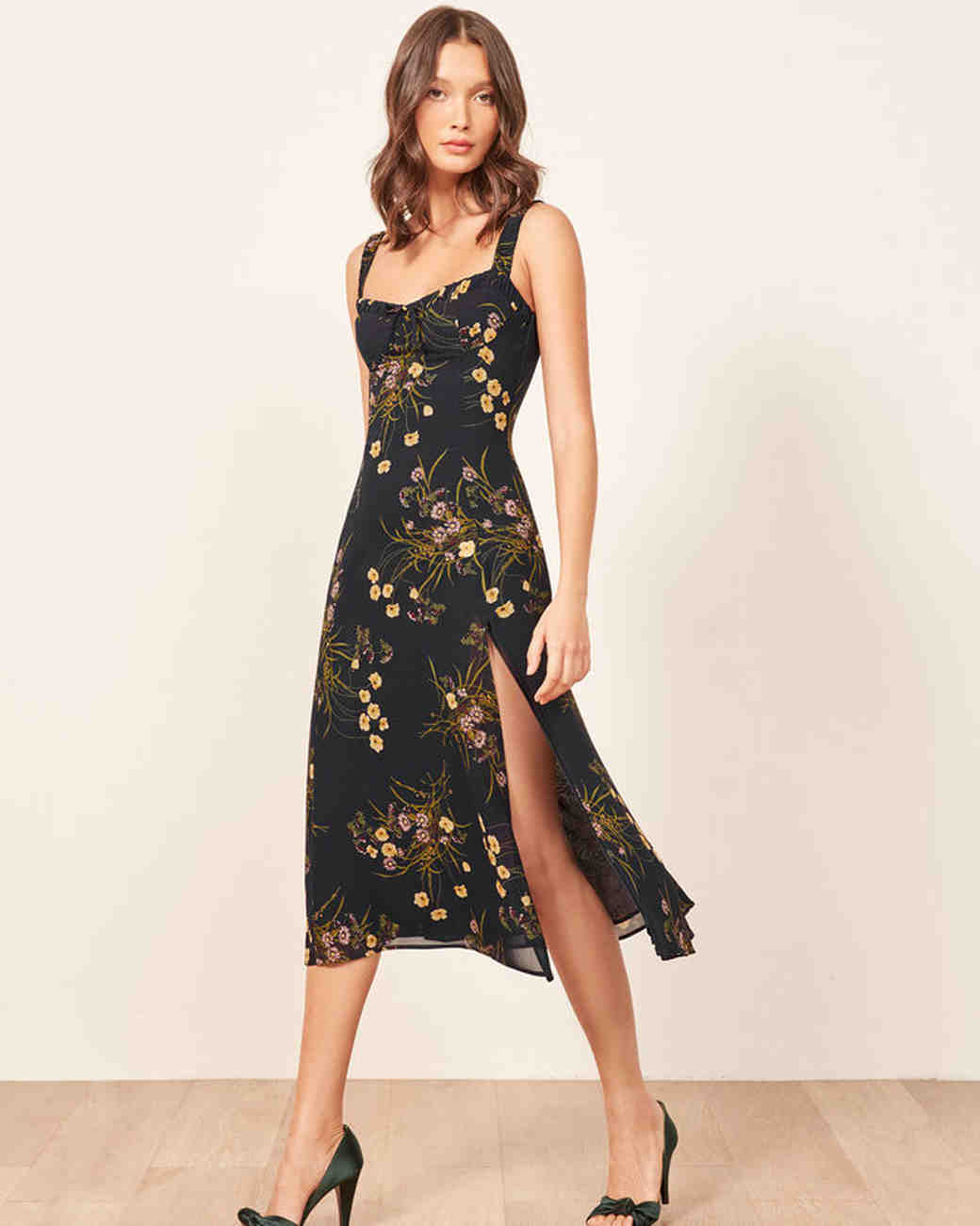 Floral Wedding Guest Dresses for Fall