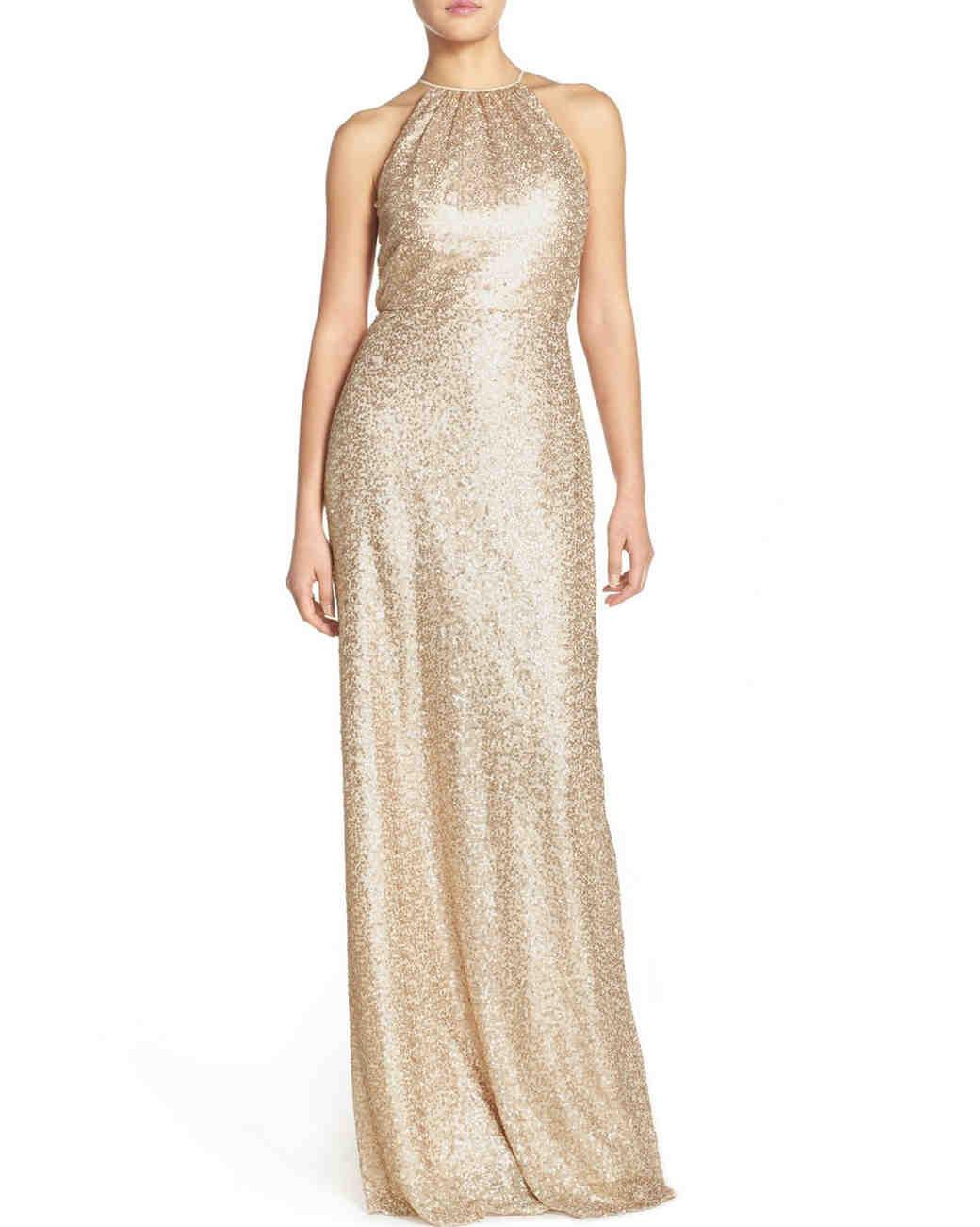Gold Bridesmaid Dresses   Martha Stewart