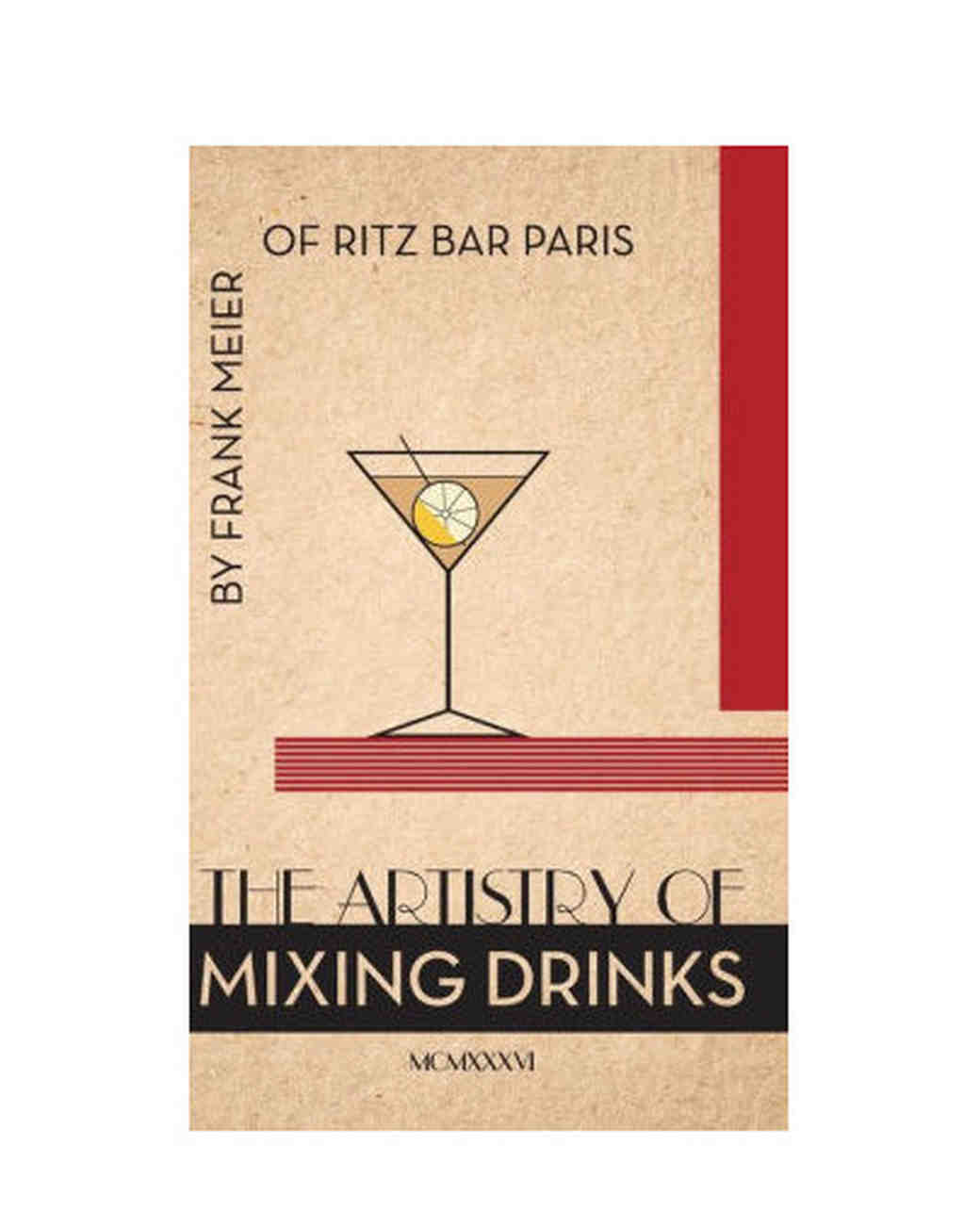 mixing drinks book
