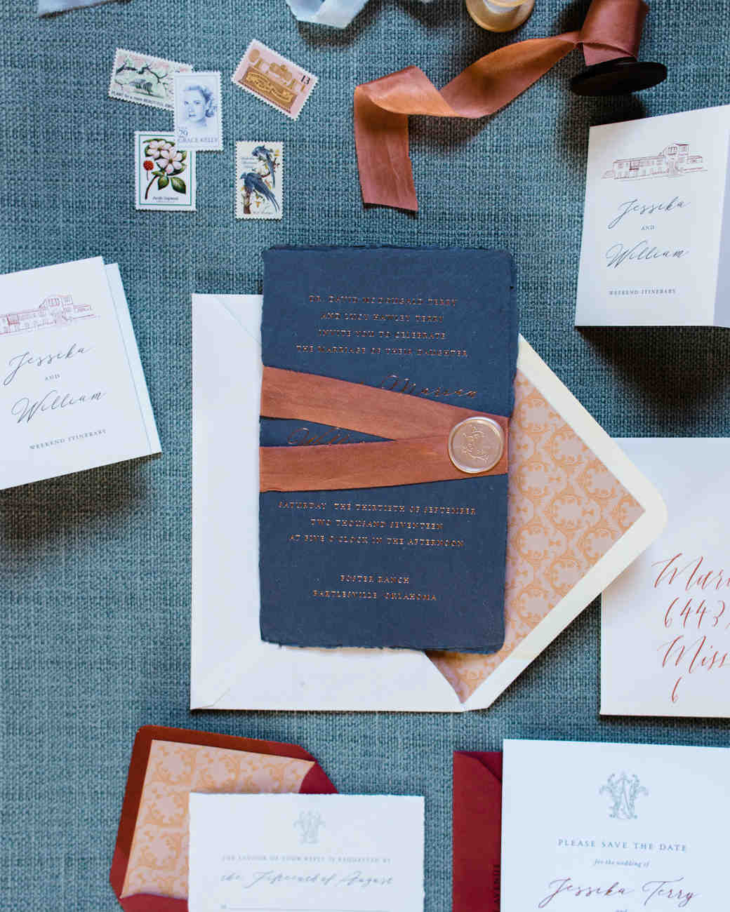 jessika william wedding invitations