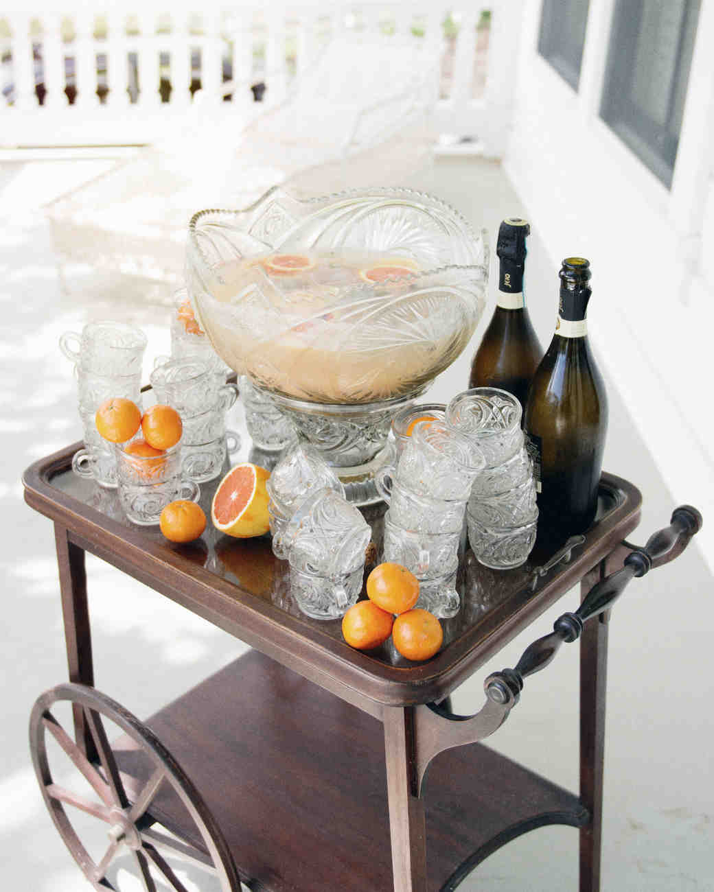 punch on bar cart