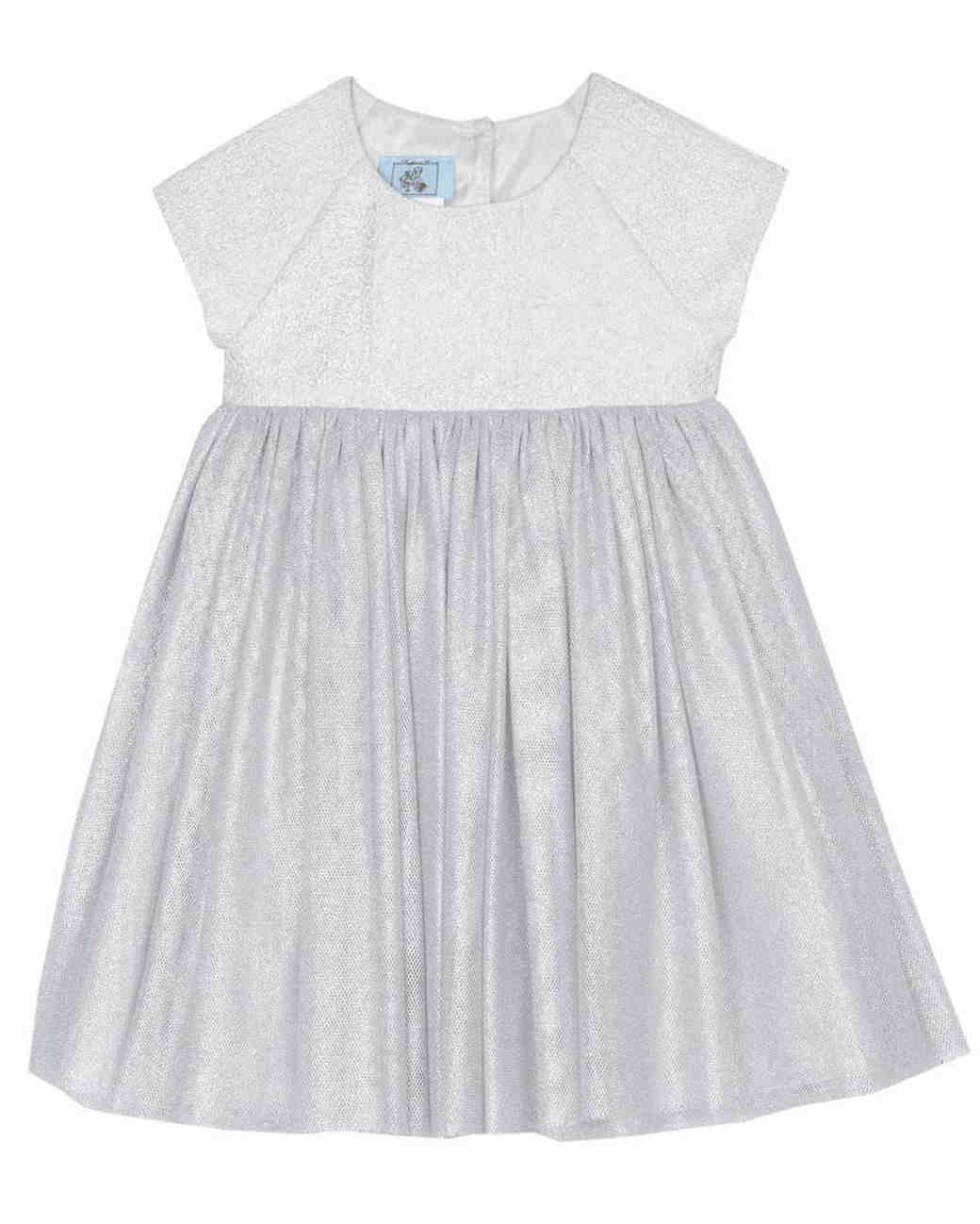 Cute And Comfortable Short Sleeve Flower Girl Dresses Martha