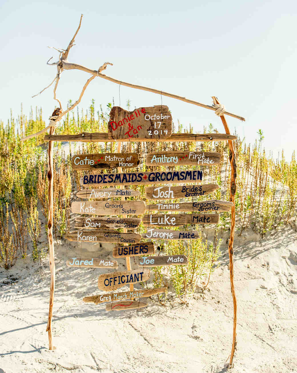 driftwood display ceremony program