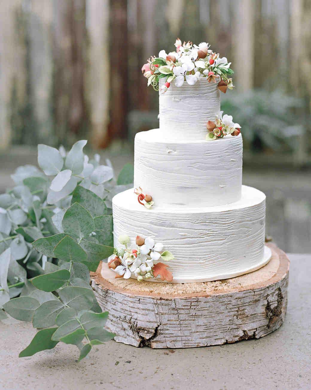 Rustic wedding cakes martha stewart