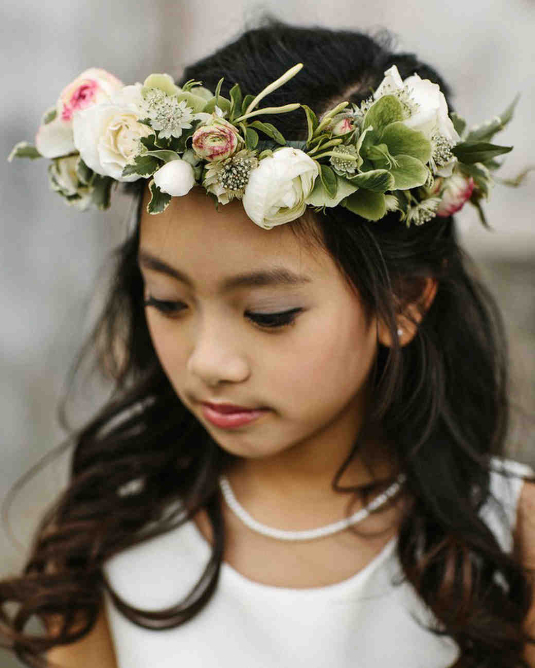 flower crown flower girl