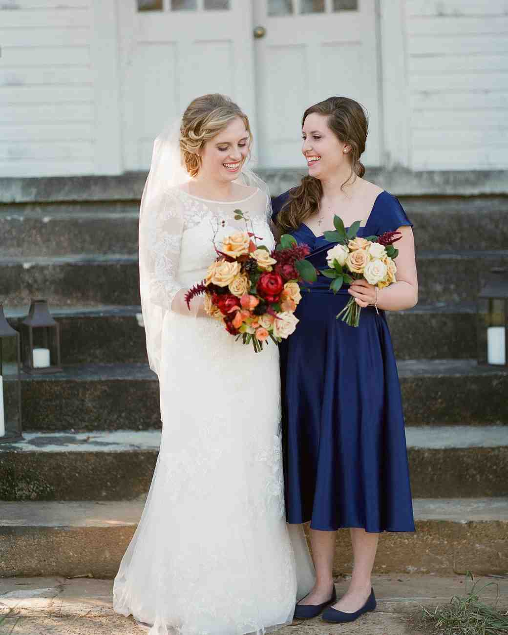 Navy blue bridesmaid dresses martha stewart weddings ombrellifo Image collections