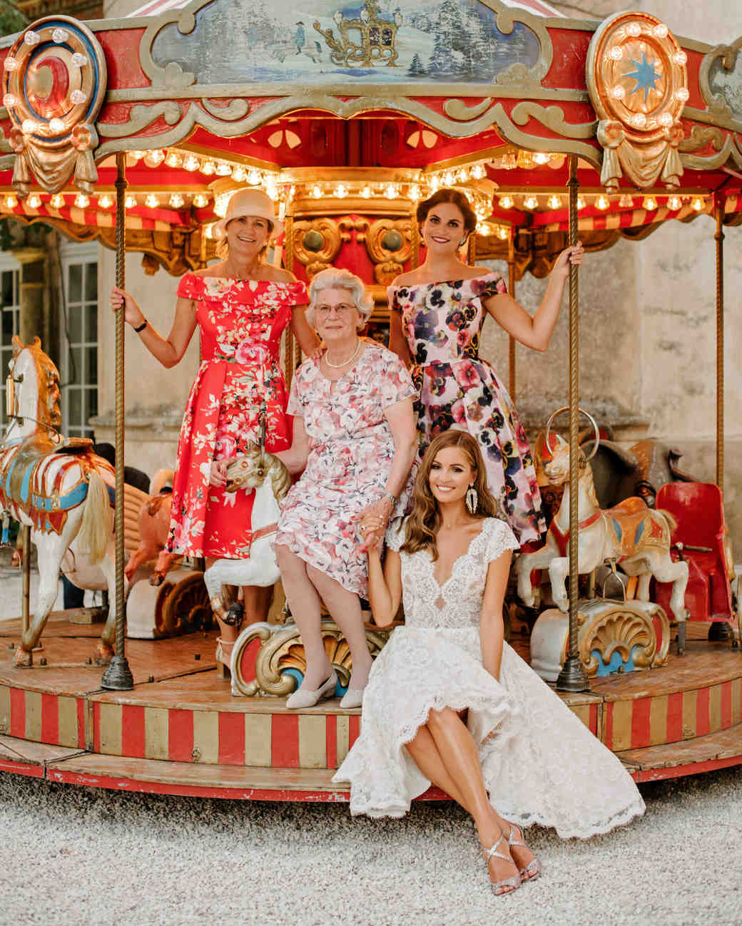 lara kjell circus party family carousel