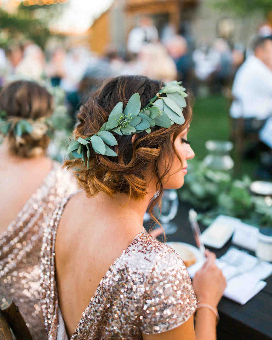 maid of honor hairstyles Grecian Flair
