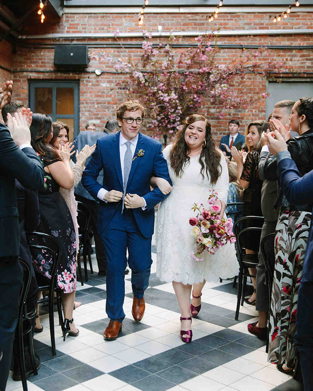 Aidy Bryant and Conner O'Malley Wedding