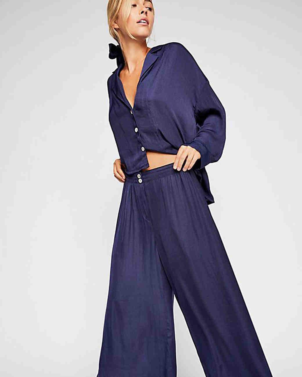 bridesmaid robe alternatives free people lounge pants