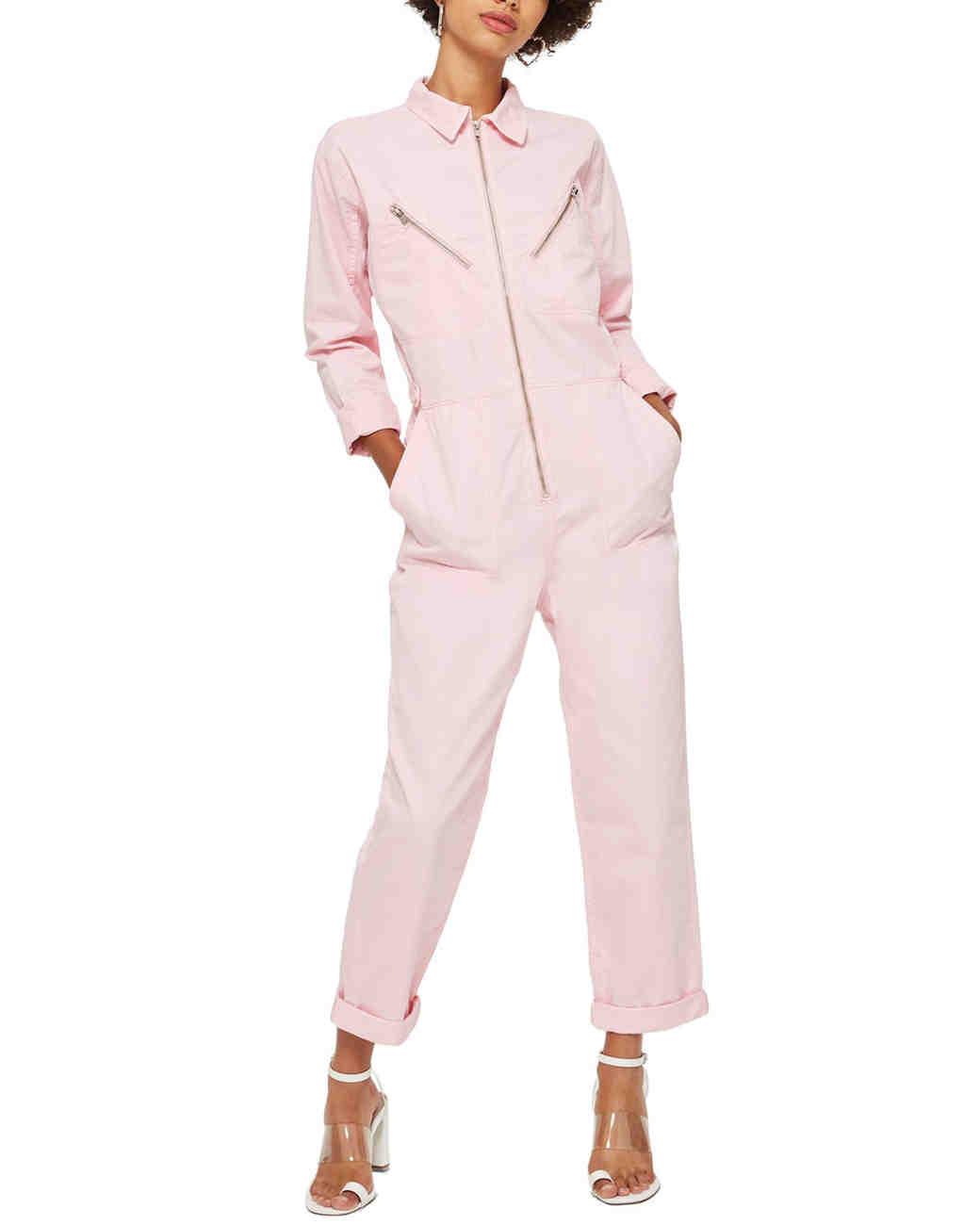 bridesmaid robe alternatives topshop utility jumpsuit