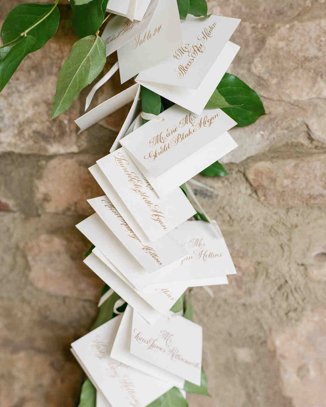 25 ideas for the prettiest calligraphed escort cards martha wedding escort cards junglespirit Images