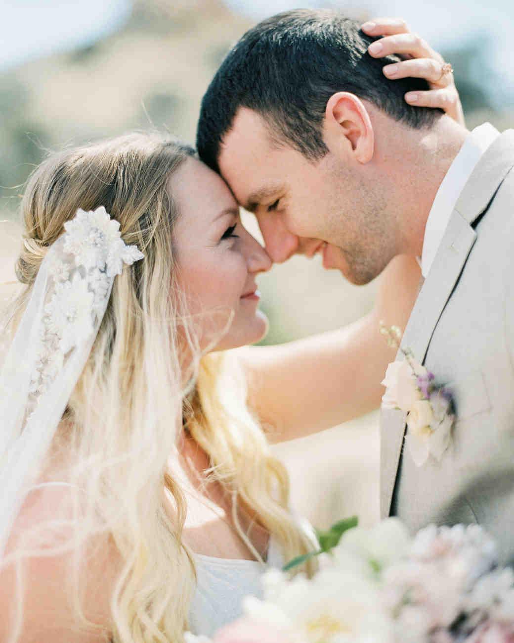Christine & Josh close-up
