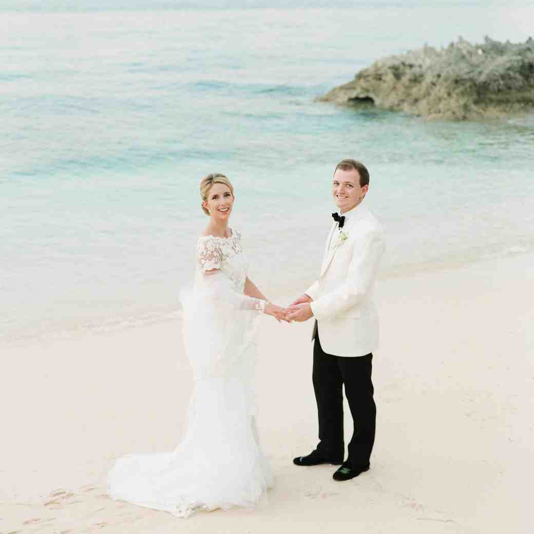 An Elegant Tropical Wedding in the Bahamas